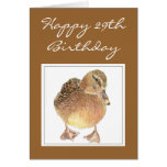 Don't Let Old Age make you quackers Birthday Duck Card