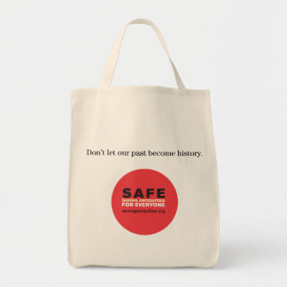 Don't let our past become history bag