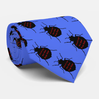 Dont Let the Bed Bugs Bite Neck Tie