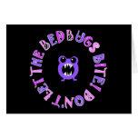 Don't Let The Bedbugs Bite! Cards