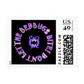 Don't Let The Bedbugs Bite! Postage Stamp