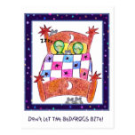 Don't Let The Bedfrogs Bite! Postcards