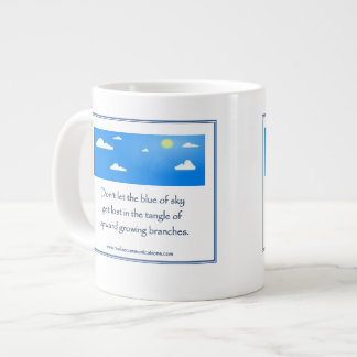 Don't Let the Blue of Sky MUG TWO IMAGES