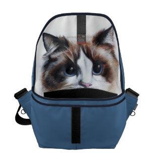 don't let the cat out of the bag Messenger Bag Messenger Bag