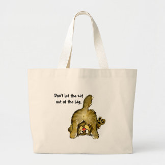 Don't let the cat out of the bag Tote