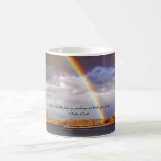 Don't let the fear of striking out hold you back. magic mug