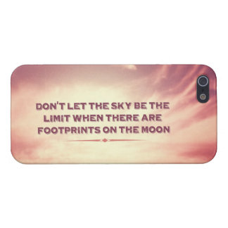 Don't let the sky be the limit… cover for iPhone SE/5/5s