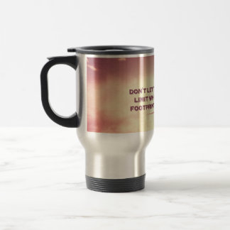 Don't let the sky be the limit… travel mug