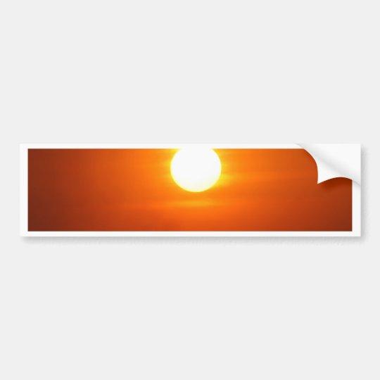Don't Let The SunRise Bumper Sticker