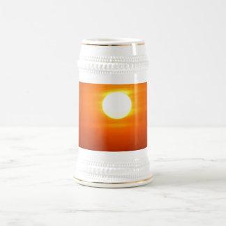 Don't Let The SunRise 18 Oz Beer Stein