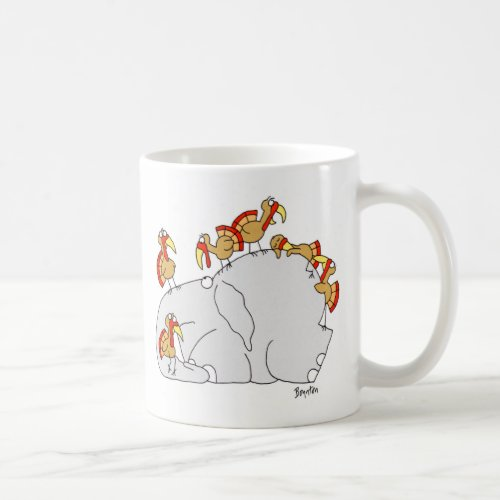 Dont Let the Turkeys Get You Down Coffee Mug