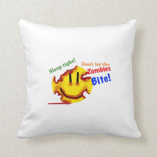 Don't let the zombies bite! pillow