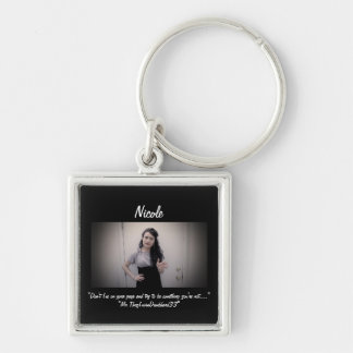Don't Lie Your Page Keyring Keychain