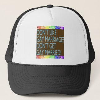 Don't Like Gay Marriage? Trucker Hat