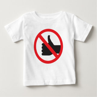 don't like sign baby T-Shirt