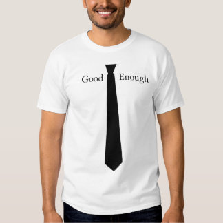 Dont like to wear a tie? tee shirt