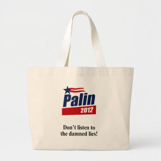 Don't listen to the damned lies bag