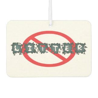 Don't Litter Air Freshener