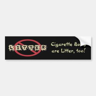 Don't Litter Bumpersticker Bumper Sticker