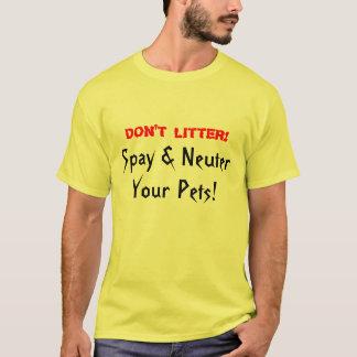 Don't Litter T-Shirt