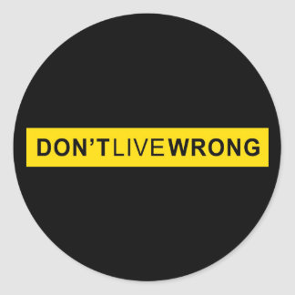 Don't Live Wrong, Doping Parody Stickers