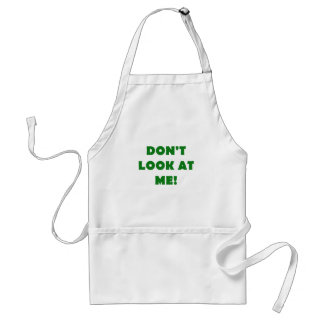 Dont Look at Me Aprons