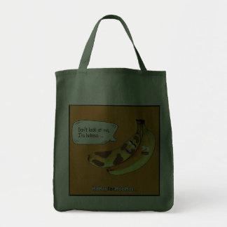 Don't Look at Me, I'm Hideous Tote Bag