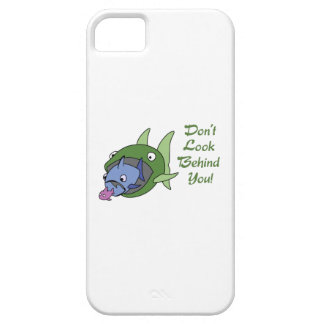DONT LOOK BEHIND YOU iPhone 5 CASE