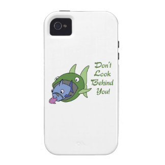 DONT LOOK BEHIND YOU Case-Mate iPhone 4 CASES