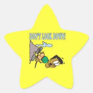 Dont Look Down 2 Star Sticker