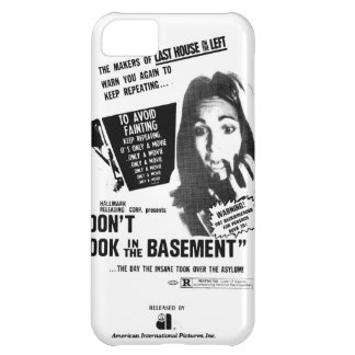 Don't Look In The Basement iPhone 5C Case