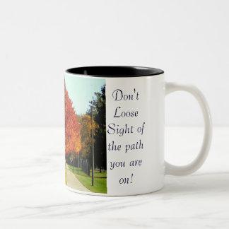 Don't loose sight Mug