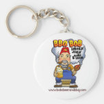Don't lose your keys! BBQ Bob is here! Key Chains
