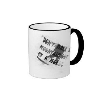 Don't Make A Mogul Out Of A Mogul! Ringer Coffee Mug