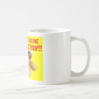 DON'T MAKE ME ASSUME MY ULTIMATE FORM!!! CLASSIC WHITE COFFEE MUG