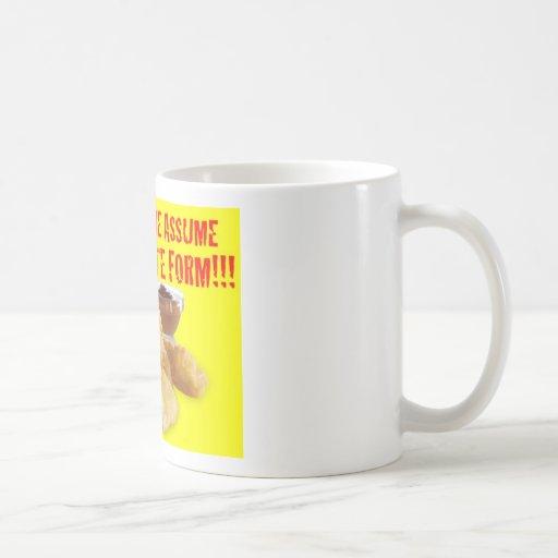 DON'T MAKE ME ASSUME MY ULTIMATE FORM!!! COFFEE MUG