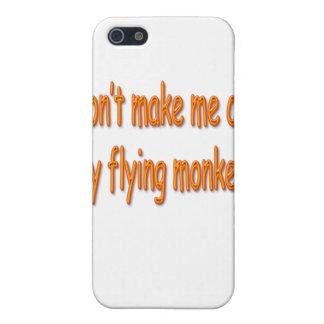 Don't Make Me Call My Flying Monkeys Orange Cover For iPhone SE/5/5s