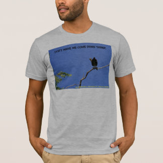 DON'T MAKE ME COME DOWN THERE! T-Shirt