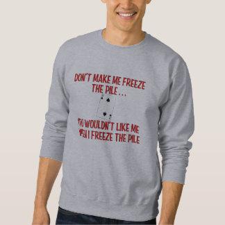 """""""Don't Make Me Freeze the Pile"""" Canasta Shirt"""