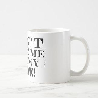 Dont Make Me Get My Lute Coffee Mug