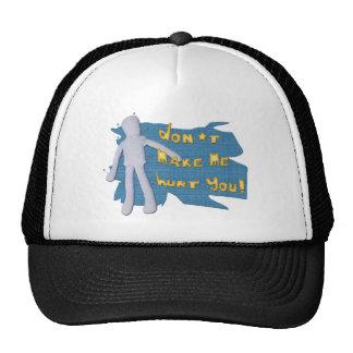 Don't make me... mesh hats