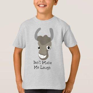 Don't Make Me Laugh Buffalo T-Shirt