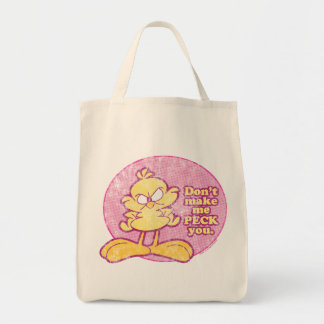 Don't Make Me Peck You Tote Bag