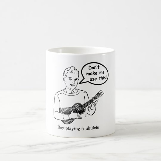 Don't make me use this (Ukulele) Coffee Mug
