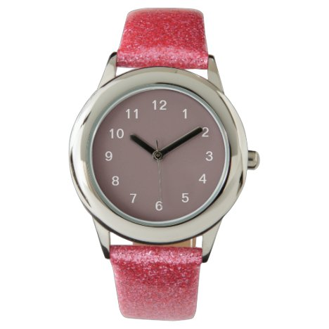 Don't Maupe It's Mauve-Taupe Wristwatch