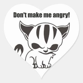 don't me make angry! Kitty