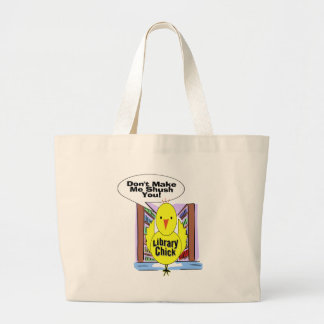 Don't Me Me Shush You Large Tote Bag