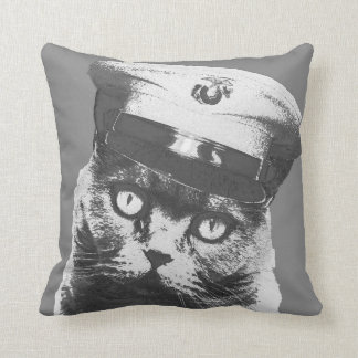 Don't Meow Throw Pillow