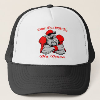 Dont Mess Big Dog Trucker Hat
