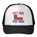 DON'T MESS TEXAS w/Chilean Flag Mesh Hats